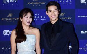 Song Joong Ki và Song Hye Kyo khiến fan bất ngờ khi công khai đám cưới