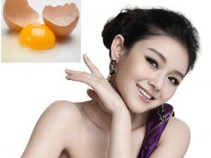 Trứng gà rất tốt với chị em phụ nữ trong việc làm đẹp