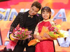Nguyên Khang và Kim Ngọc đã chiến thắng thuyết phục với tiết mục độc đáo