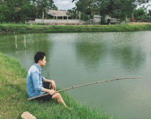 Phan Mạnh Quỳnh sống cuộc sống bình dị, an nhiên tại vùng quê yên bình