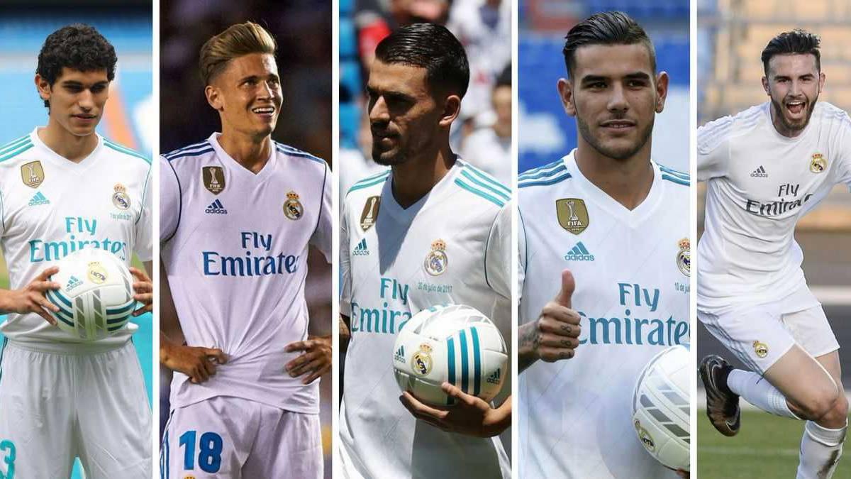 Real đã lãng phí mùa hè vì 5 cầu thủ