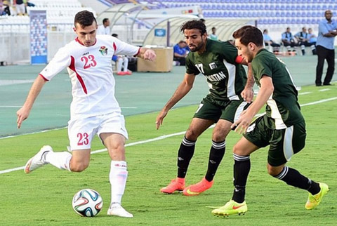 U23 Jordan vs U23 Saudi Arabia