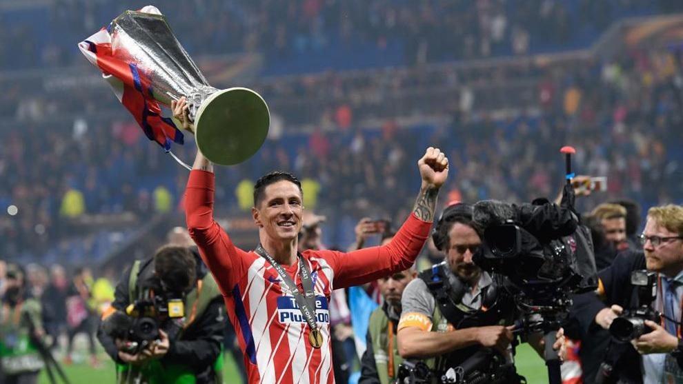 Số danh hiệu của Torres cùng Atletico