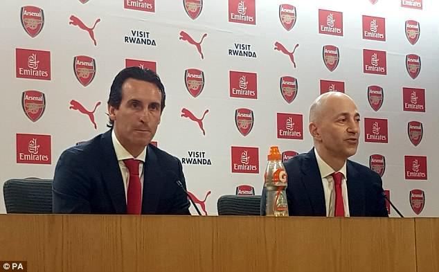 Unai Emery có mục tiêu mới tại Arsenal