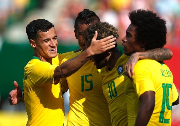 ĐT Brazil đã sẵn sàng