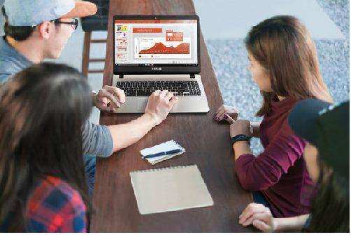 Viền màn hình ảnh hưởng đến khu vực hiển thị của laptop