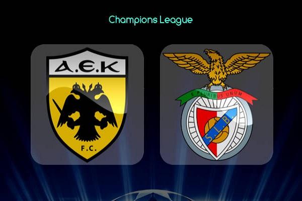 Nhận định Benfica vs AEK Athens