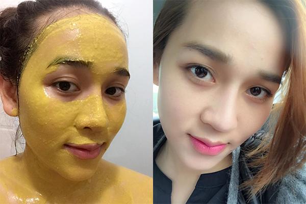 Một số lưu ý khi sử dụng mặt nạ nghệ dưỡng da tại nhà