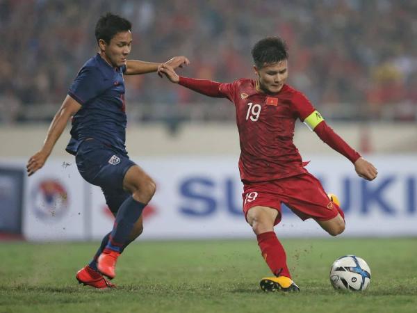 """Quang Hải: """"không bất ngờ khi thắng Thái Lan với tỷ số 4-0"""""""