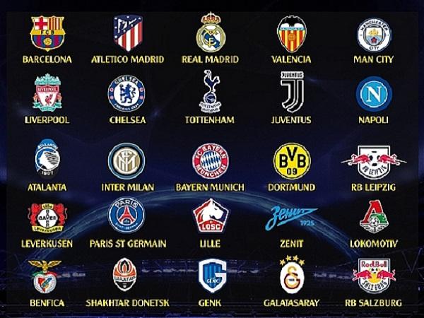 Xác định 25 anh tài tham dự Champions League mùa giải tới