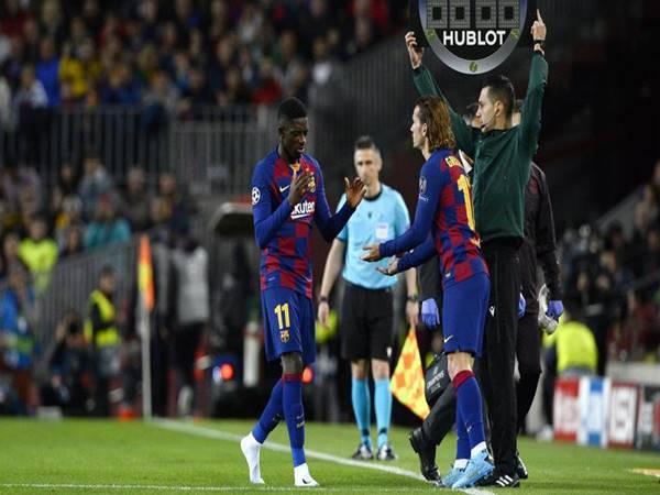 Dembele bật khóc trong ngày Barca đại thắng?