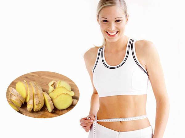 Tuyệt chiêu giảm mỡ bụng bằng gừng tươi hiệu quả