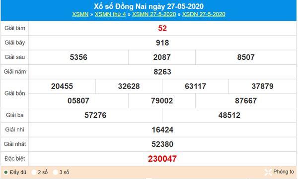 Soi cầu KQXS Đồng Nai 3/6/2020 cùng các chuyên gia