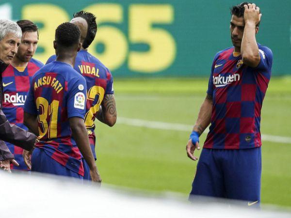 Cầu thủ Barca nổi giận với HLV khi Griezmann được vào sân