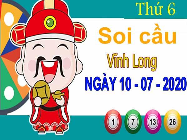 Soi cầu XSVL ngày 10/7/2020 – Soi cầu KQXS Vĩnh Long thứ 6