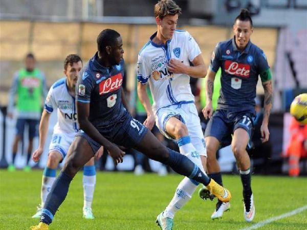 Soi kèo Napoli vs Empoli, 23h45 ngày 13/1 - Cup Quốc gia Italia