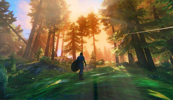 Valheim về cơ bản là Skyrim như một trò chơi sinh tồn trong bản mod VR mới