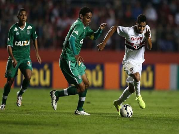 Nhận định soi kèo Sao Paulo vs Chapecoense 5h ngày 17/6