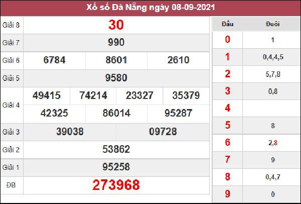 Soi cầu SXDNG 11/9/2021 thứ 7 chốt cầu VIP Đà Nẵng